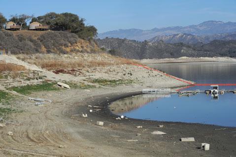 Santa Barbara County Water Supply Vanishing Due To Drought